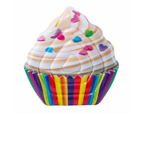 Пляжный надувной матрас Intex 58770 «Кекс», серия «Десерт», 142 х 135 см
