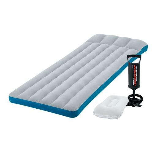 Надувной матрас Intex 67998-2, 72 х 189 х 20 см, подушка и ручной насос. Одноместный