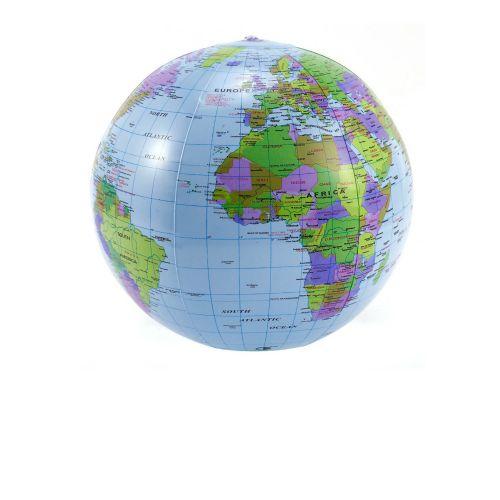 Надувной мяч Bambi 0559 «Глобус», 35 см