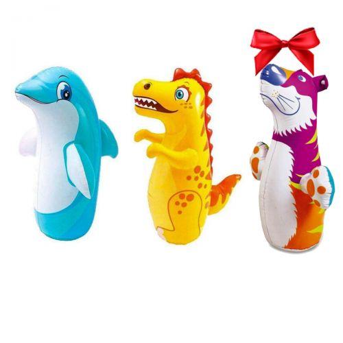 Надувной набор 3 в 1 игрушка - неваляшка Intex 44100 (Intex 44669)