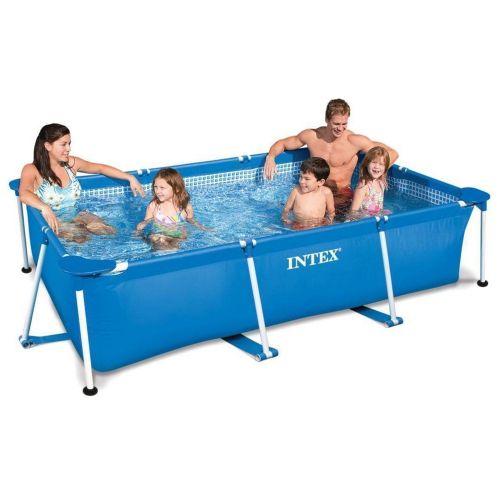 Каркасный бассейн Intex 28271 - 2, 260 х 160 х 65 см (тент, подстилка)