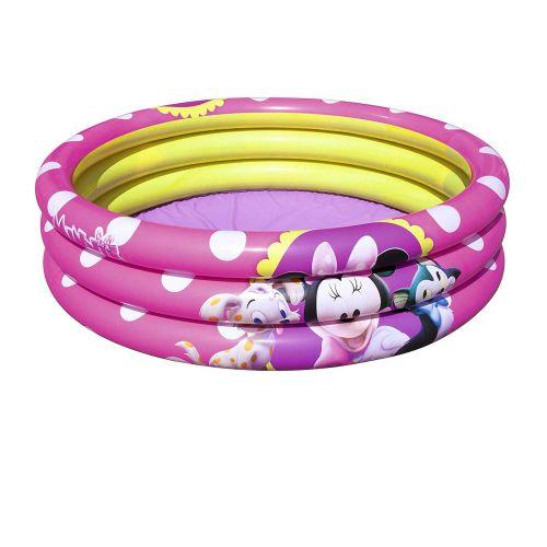Детский надувной бассейн Bestway 91060 «Минни Маус», 102 х 25 см