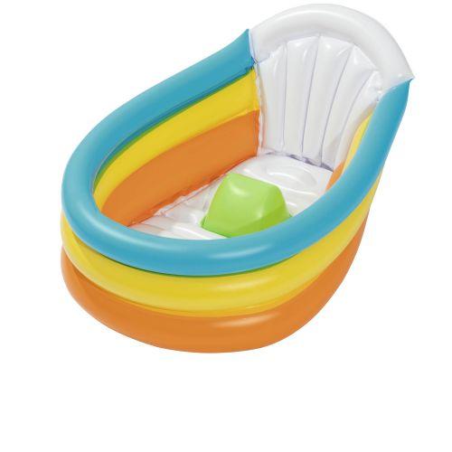 Детский надувной бассейн Bestway 51134, 76 х 48 х 33 см, с термометром