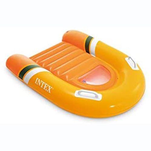Детская доска для катания Intex 58154 «Surf rider», 102 х 89 см, оранжевый