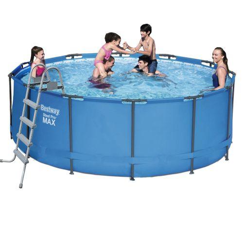 Каркасный бассейн Bestway 5614S - 1, 366 х 122 см (лестница)