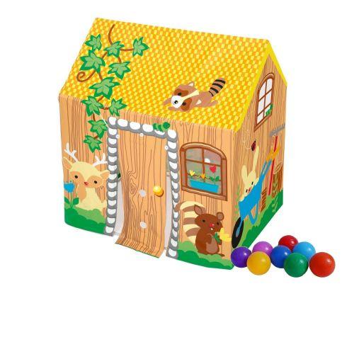 Детский игровой домик Bestway 52007-1, 102 х 76 х 114 см, с шариками 10 шт