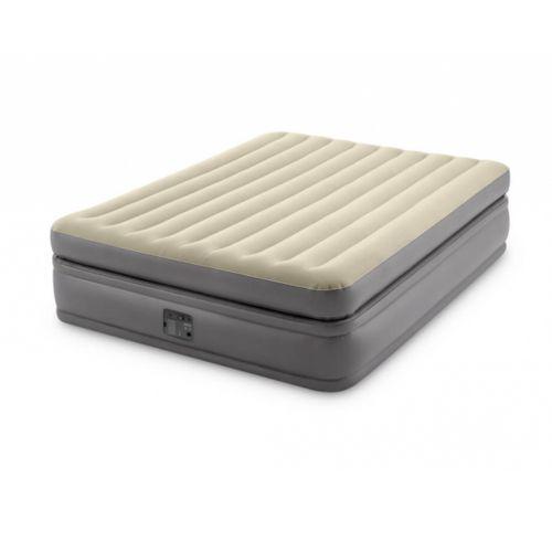 Надувная кровать Intex 64164, 152 х 203 х 51 см, встроенным электронасос. Двухспальная