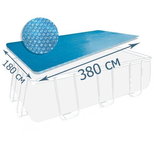 Теплосберегающее покрытие (солярная пленка) для бассейна Bestway 58240, 380 х 180 см (для бассейнов 404 х 201, 412 х 201 см)
