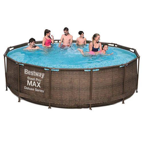 Каркасный бассейн Bestway 56709 - 0, 366 x 100 cм (чаша, каркас)