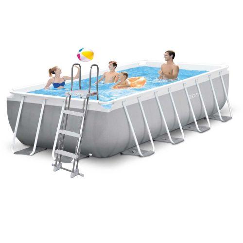 Каркасный бассейн Intex 26790 - 1, 400 х 200 х 122 см (лестница)