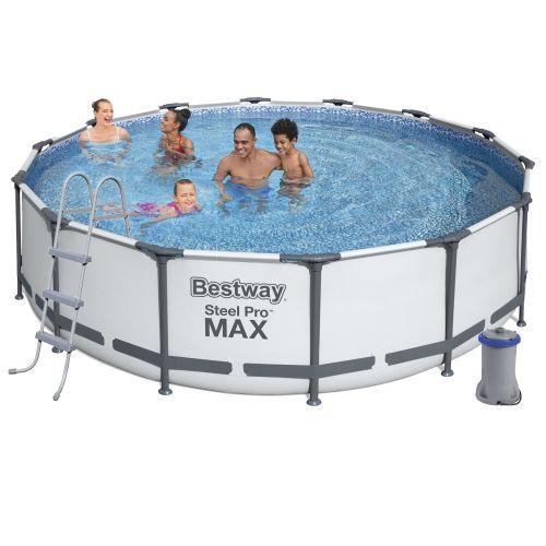Каркасный бассейн Bestway 56950, 427 х 107 см (3 028 л/ч, лестница, тент)