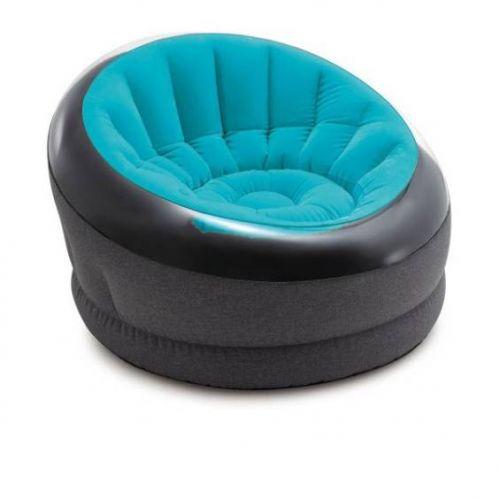 Надувное кресло Intex 66582, 112 х 109 х 69 см, голубое