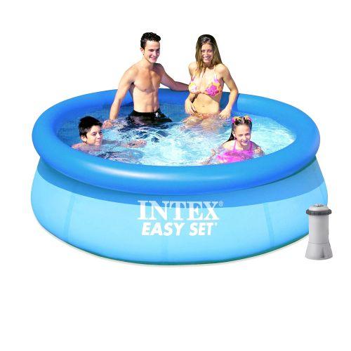 Надувной бассейн Intex 28110 - 3, 244 х 76 см (2 006 л/ч)