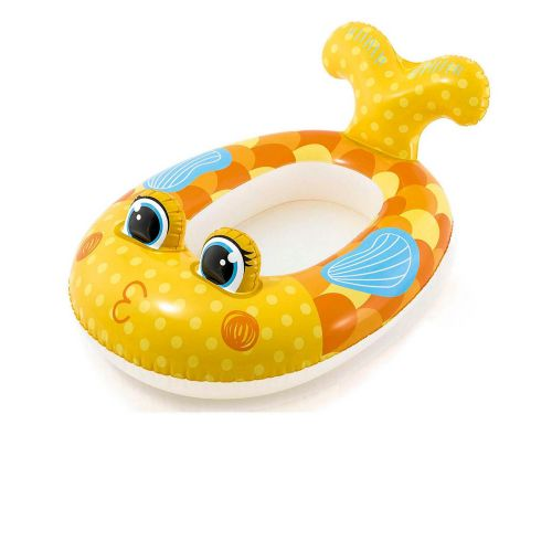 Надувная лодочка Intex 59380 «Золотая рыбка», 117 х 76 см