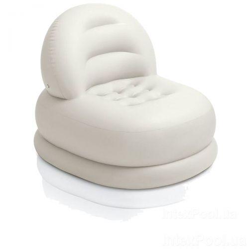 Надувное кресло Intex 68592, 99 х 84 х 76 см, белое