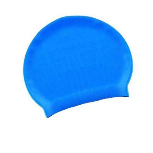 Шапочка для плавания Bestway 26006, универсальная, размер М (8+),обхват головы ≈ 52-65 см, (22 х 19 см), голубая
