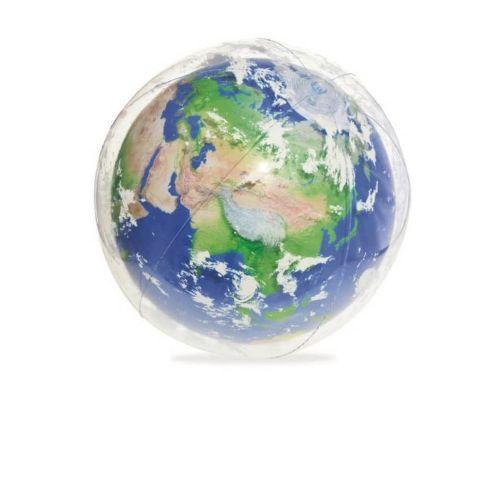 Надувной мяч Bestway 31045 «Земля», 61 см