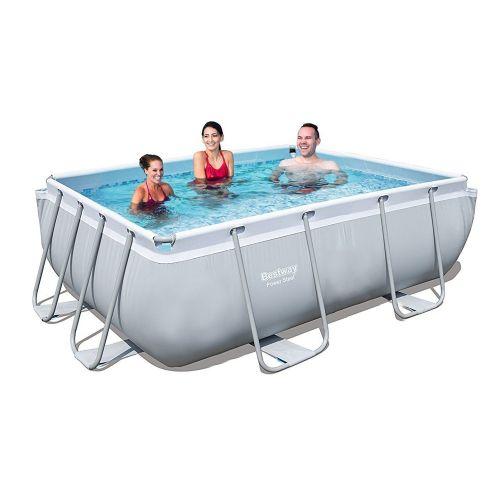 Каркасный бассейн Bestway 56629 - 0 (чаша, каркас), 282 х 196 х 84 см