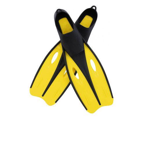 Ласты для плавания Bestway 27023, размер M, 40 (EU), под стопу ≈ 25 см, желтый