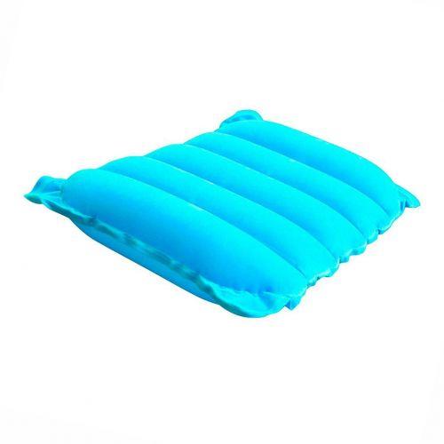 Надувная флокированная подушка Bestway 67485, голубая, 38 х 24 х 9 см