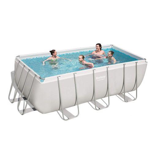 Каркасный бассейн Bestway 56457 - 0 (чаша, каркас), 412 х 201 х 122 см