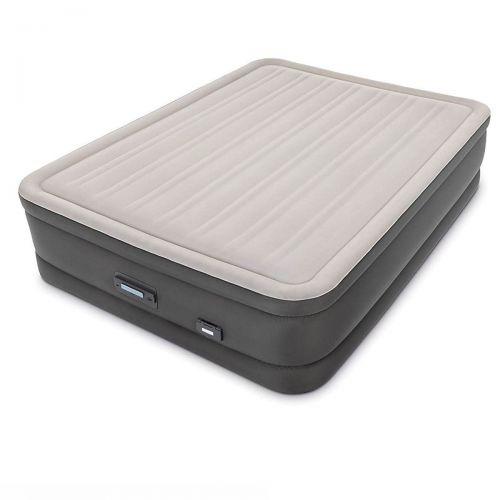 Надувная кровать Intex 64770, 152 х 203 х 46 см, встроенный электронасос PremAire. Двухспальная