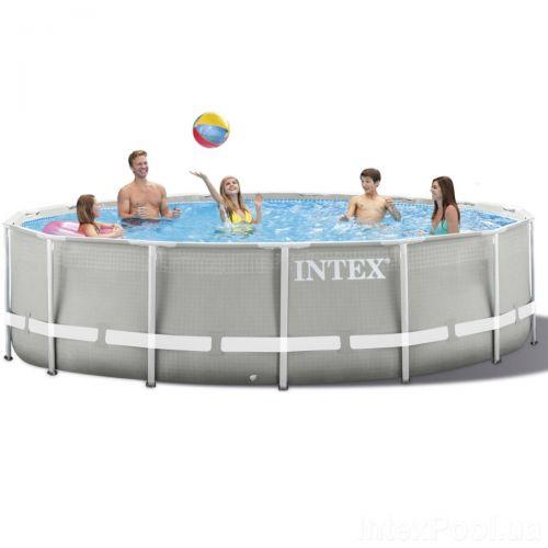 Каркасный бассейн Intex 26720 - 0, 427 х 107 см (чаша, каркас)