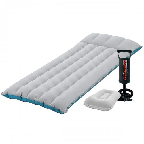 Надувной матрас Intex 67997-2, 67 х 184 х 17 см, с подушкой, насосом. Одноместный
