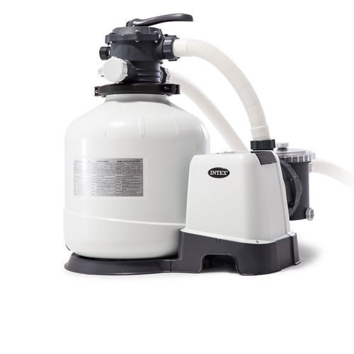 Песочный насос с хлоргенератором Intex 26676, 6 000 л/ч хлор 7 г/ч, 35 кг