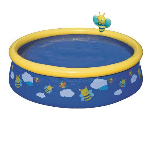 Детский надувной бассейн Bestway 57326 «Пчелки», 152 х 38 см, синий