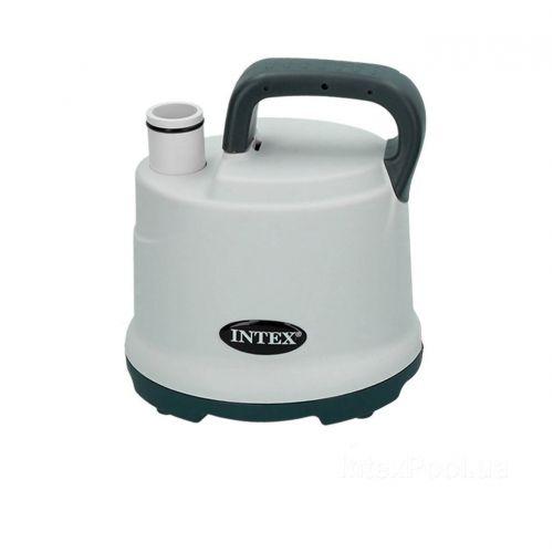 Дренажный, электрический, погружной насос Intex 28606, для откачивания и слива воды из бассейна 3 585 л/ч