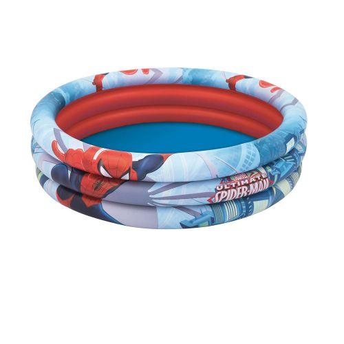 Детский надувной бассейн Bestway 98018 «Спайдер Мен, Человек-Паук», 122 х 30 см