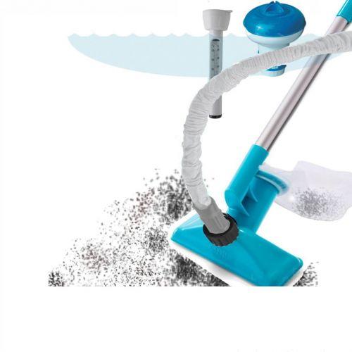Набор аксессуаров для ухода за бассейном Intex 58195, пылесос для очистки дна от садового шланга
