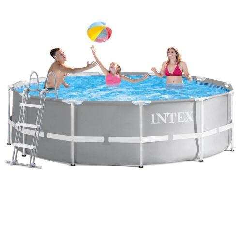 Каркасный бассейн Intex 26716 - 1, 366 x 99 см (лестница)