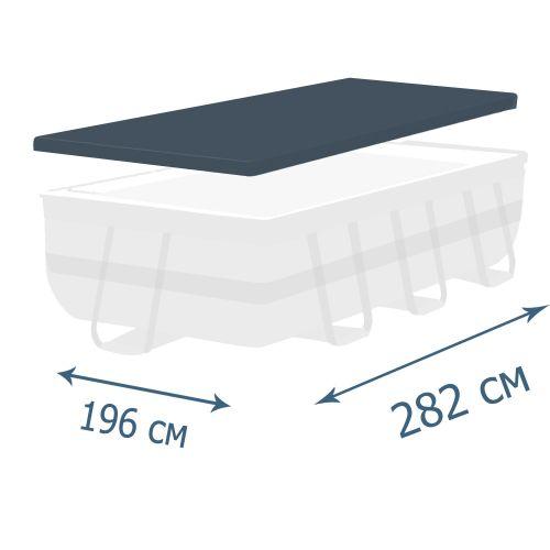 Тент - чехол для каркасного бассейна Bestway 58442, 282 х 196 х 84 см