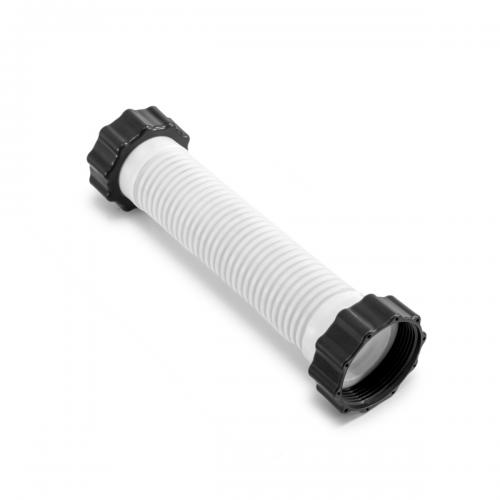 Гофрированный шланг с гайками Intex 11763 к насосу 26644 (длина 21 см, диаметр 38 мм, резьба 50 мм)