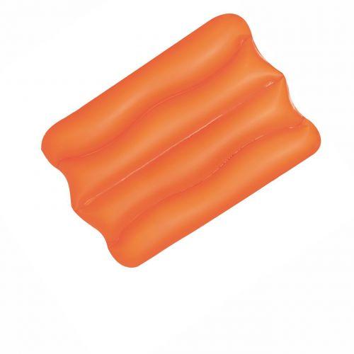 Надувная виниловая подушка Bestway 52127, оранжевая, 38 х 25 х 5 см
