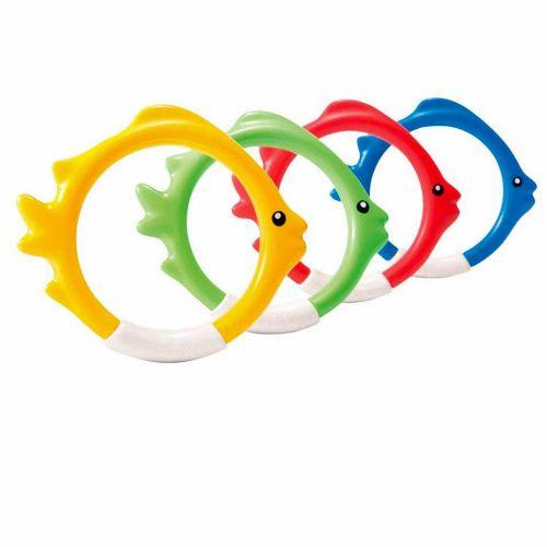 Подводный набор для ныряния Intex 55507 «Рыбка», 4 шт