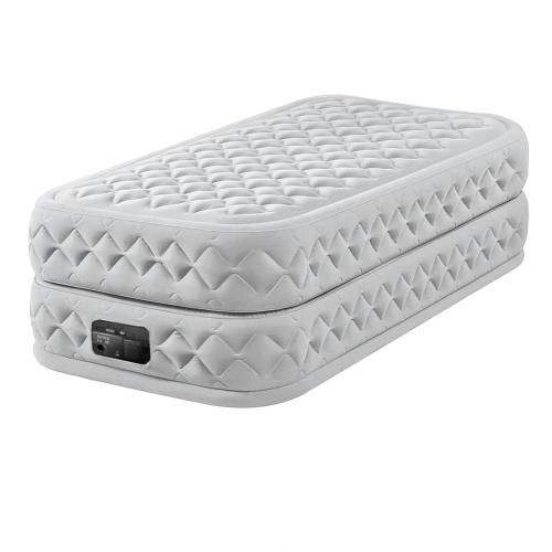 Надувная кровать Intex 64488, 99 х 191 х 51 см, встроеный электронасос. Односпальная