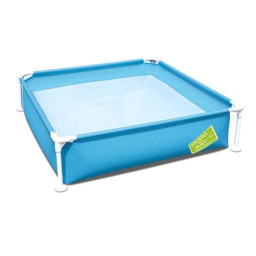 Каркасный бассейн Bestway 56217, 122 х 122 х 30.5 см, голубой