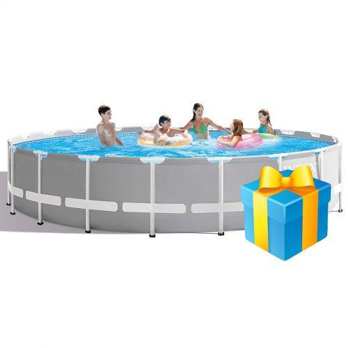 Каркасный бассейн Intex 26756 - 0, 610 х 132 см (чаша, каркас)