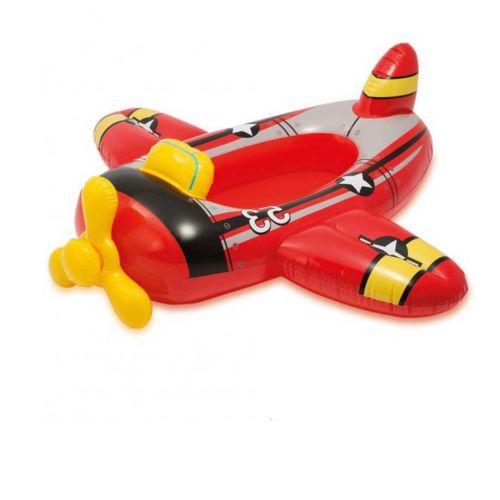 Надувная лодочка Intex 59380 «Самолет», 119 х 114 см