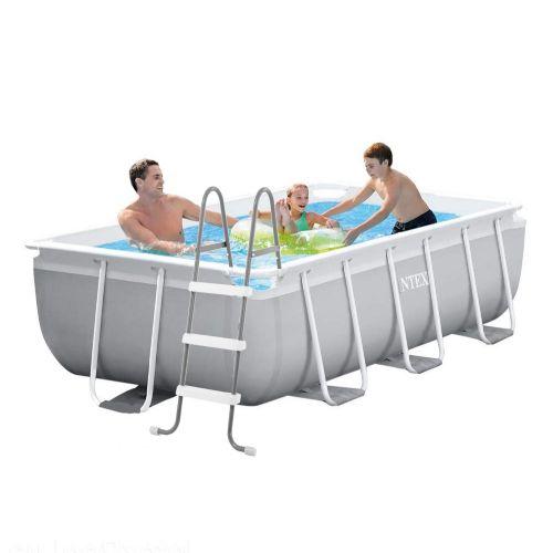 Каркасный бассейн Intex 26784 - 1, 300 х 175 х 80 см, (лестница)