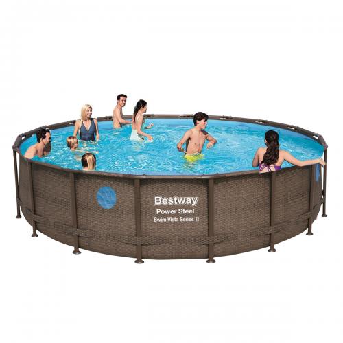 Каркасный бассейн Bestway 56977 - 0 (чаша, каркас), 549 x 122 см