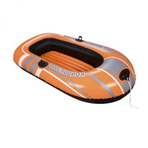 Полутораместная надувная лодка Bestway 61100 NE, Kondor 2000 (Hydro Force), 184 х 91 см. 2-х камерная