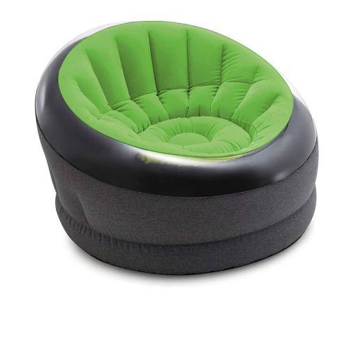 Надувное кресло Intex 66582, 112 х 109 х 69 см, зеленое