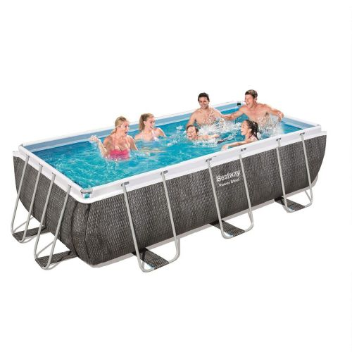 Каркасный бассейн Bestway 56721 - 0 (чаша, каркас), 404 х 201 х 100 см