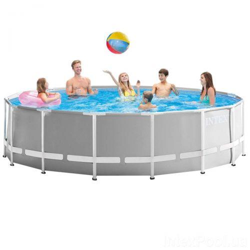 Каркасный бассейн Intex 26726 - 0 (чаша, каркас), 457 x 122 см