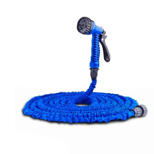 Шланг садовый поливочный с распылителем IntexPool 87533, длиной 15 м, синий