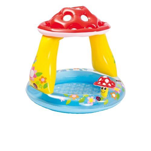 Детский надувной бассейн Intex 57114 «Грибочек», 102 х 89 см